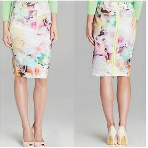 NEW Ted Baker London Electric Daydream Skirt